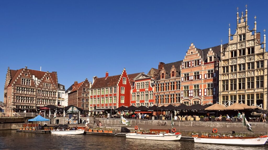 Belgie in de zomer