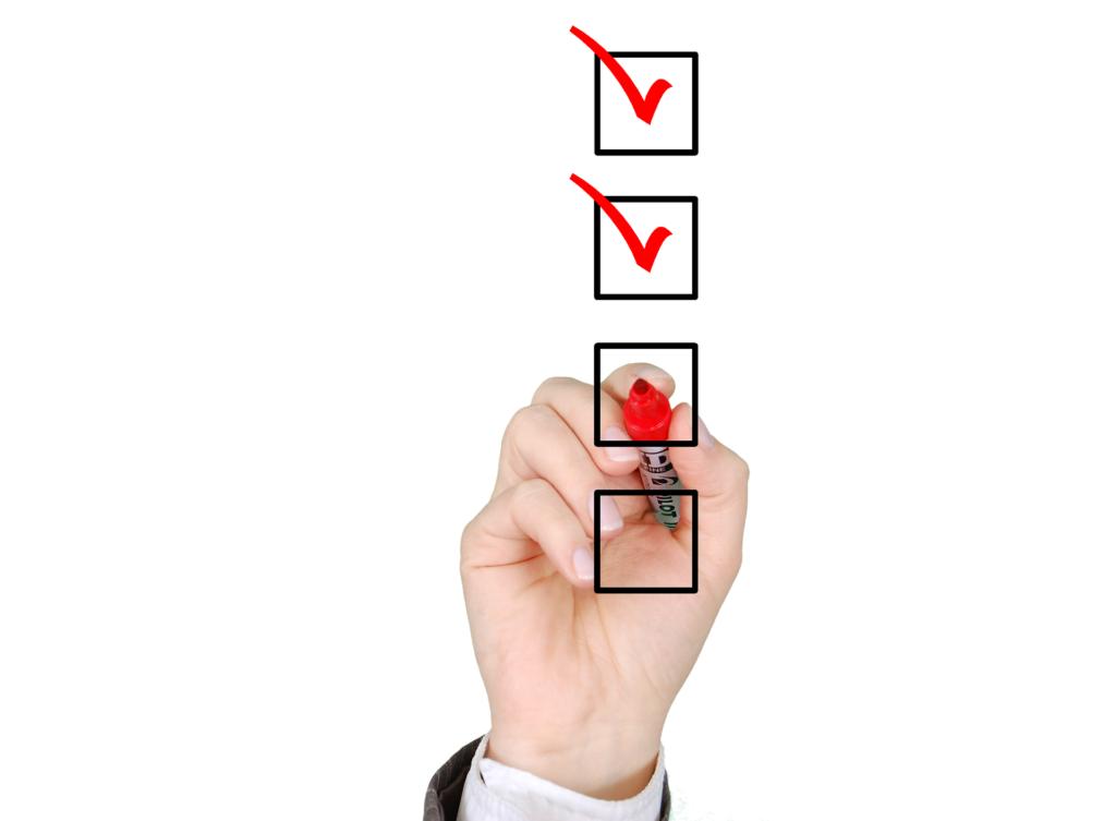 checklist voor verkoop